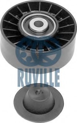 Guide Pulley, v-ribbed belt RUVILLE 55434