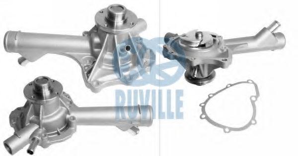 Помпа воды MB Sprinter 214/314/VW LT 28-35 2.3i (M111/AGL) RUVILLE 65193