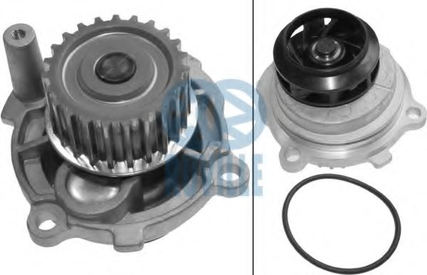 Water pump cooling RUVILLE 65411