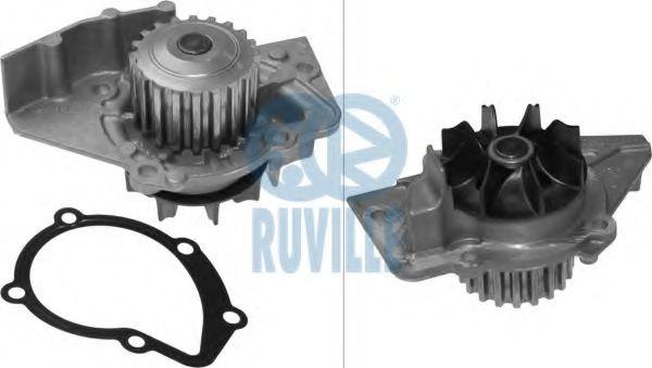 Водяна помпа Fiat/PSA 1.9D/2.0Hdi 1997- RUVILLE 65994