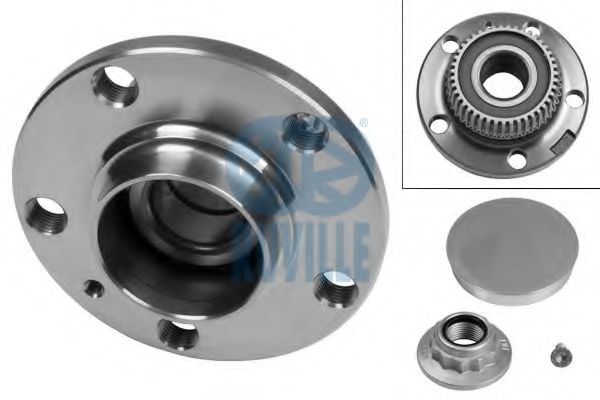 Фото 1 - Підшипник колеса,комплект RUVILLE - 5720