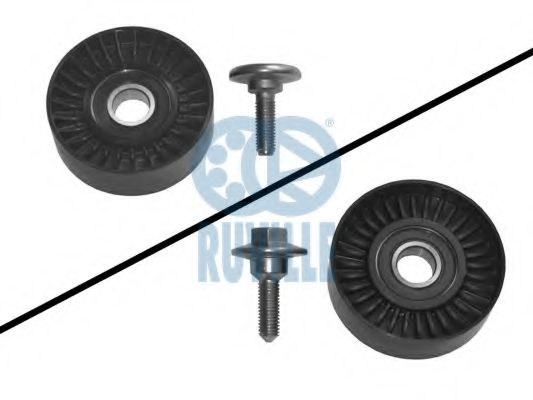 Guide Pulley, v-ribbed belt RUVILLE 55952