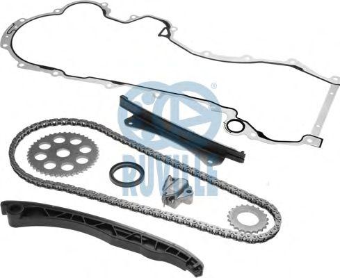 К-Кт привода распредвала FIAT DOBLO 1.3 JTD полный RUVILLE 3458010SD