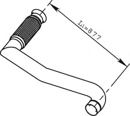 Демпфер,випуск.системи в интернет магазине www.partlider.com