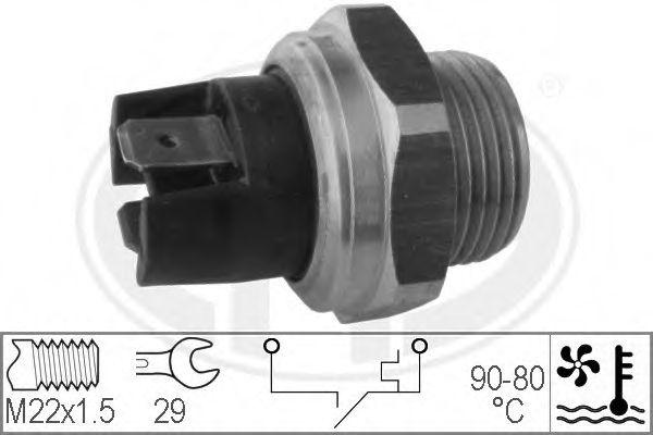 Термовмикач вентилятора радіатора  арт. 330165