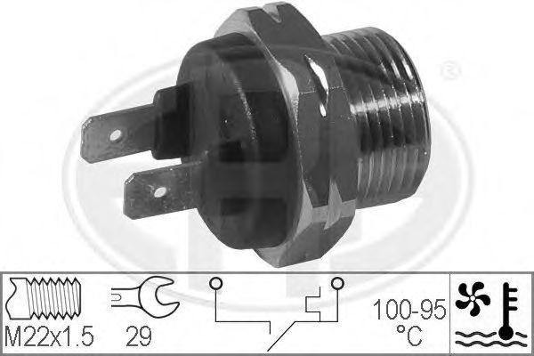 Датчик включения вентилятора радиатора ERA 330168