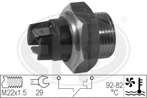 Датчик включения вентилятора радиатора ERA 330169