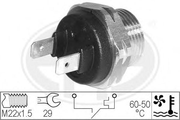 Датчик включения вентилятора радиатора ERA 330173