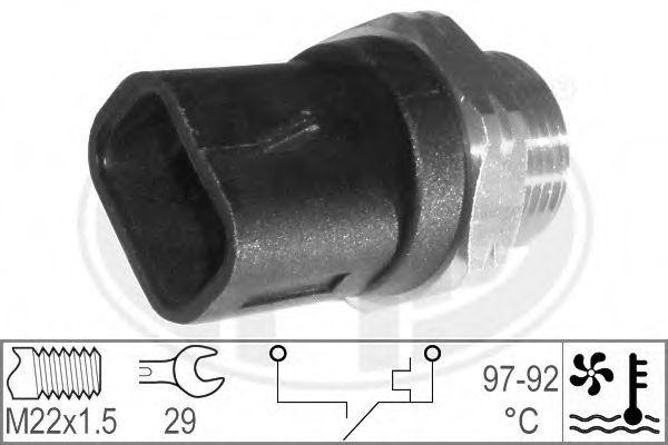 Датчик включения вентилятора радиатора  арт. 330179