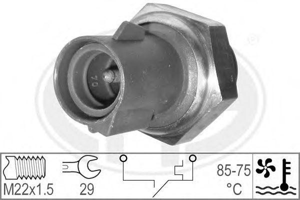 Термовмикач вентилятора радіатора  арт. 330183