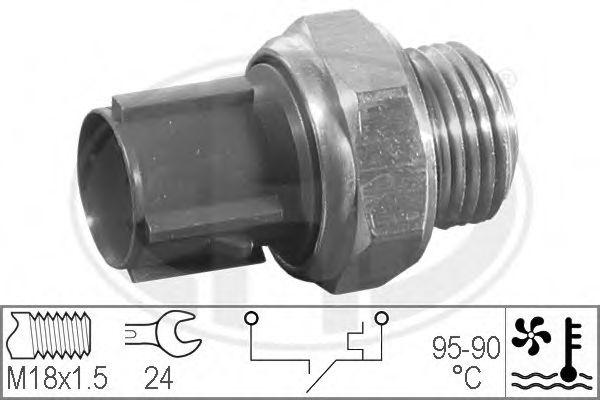 Датчик включения вентилятора радиатора  арт. 330193