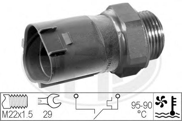 Датчик включения вентилятора радиатора ERA 330199