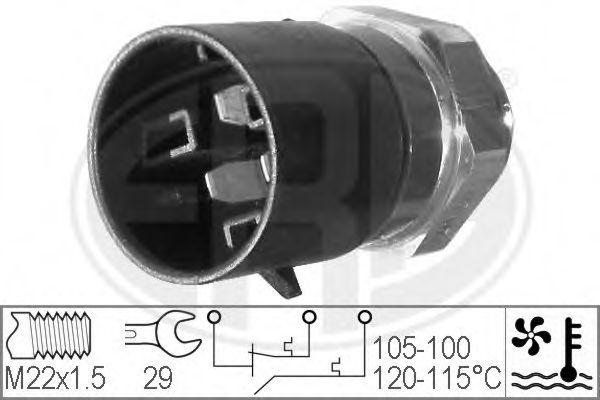 Датчик включения вентилятора радиатора ERA 330220