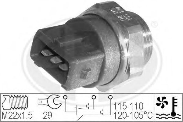 Датчик включения вентилятора радиатора ERA 330227