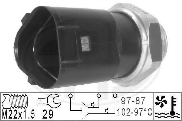 Датчик включения вентилятора радиатора ERA 330230