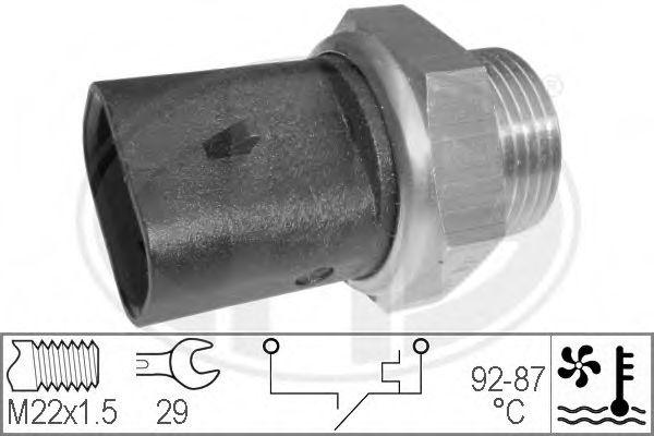 Датчик включения вентилятора радиатора  арт. 330273