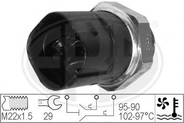 Датчик включения вентилятора радиатора ERA 330280