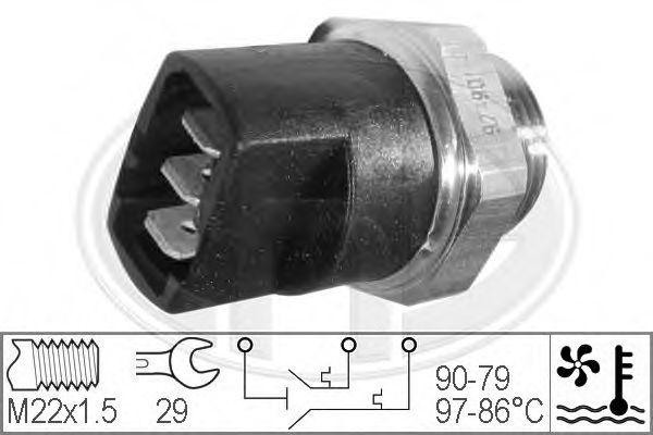 Датчик включения вентилятора радиатора ERA 330281