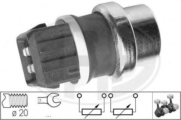 Датчик, температура охлаждающей жидкости (пр-во ERA)                                                  арт. 330287
