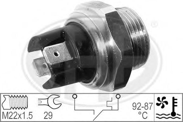 Термовмикач вентилятора радіатора  арт. 330291
