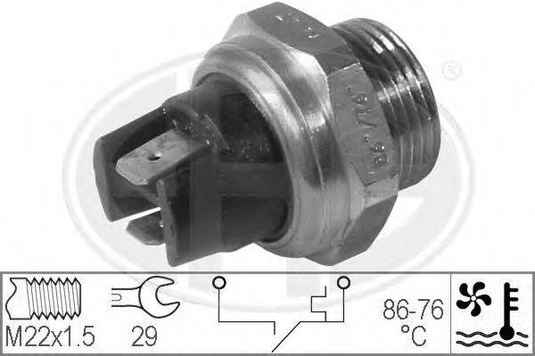 Датчик включения вентилятора радиатора  арт. 330292