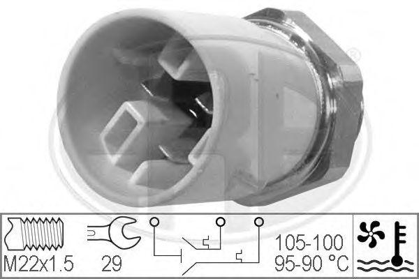 Датчик включения вентилятора радиатора ERA 330300