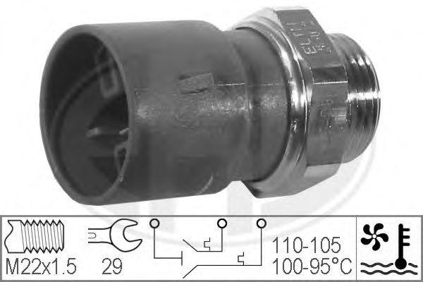 Датчик включения вентилятора радиатора ERA 330302