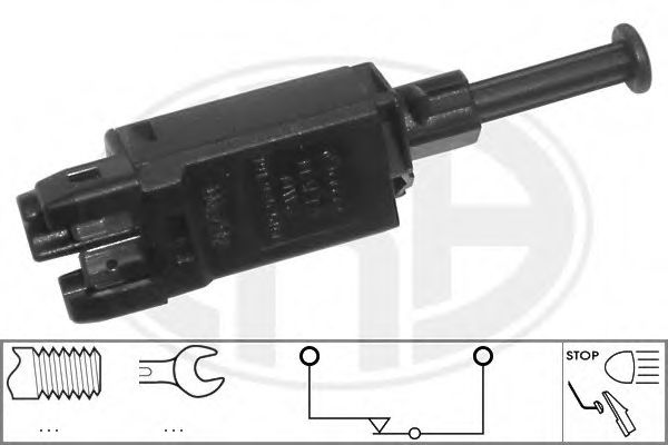 Выключатель фонаря сигнала торможения (пр-во ERA)                                                     арт. 330440