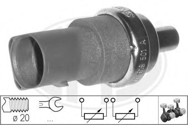 Датчик, температура охлаждающей жидкости (пр-во ERA)                                                  арт. 330496