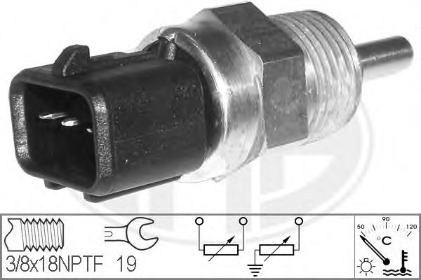 Датчик температури рідини  арт. 330632