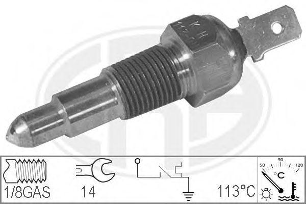 Датчик, температура охлаждающей жидкости (пр-во ERA)                                                  арт. 330679