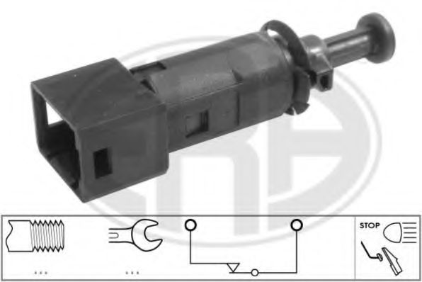Выключатель фонаря сигнала торможения DACIA,NISSAN,OPEL,RENAULT (пр-во ERA)                           арт. 330707