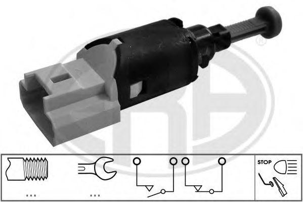 Выключатель фонаря сигнала торможения (пр-во ERA)                                                     арт. 330718