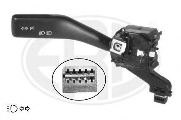 Выключатель на колонке рулевого управления левый (пр-во ERA)                                         ERA арт. 440445