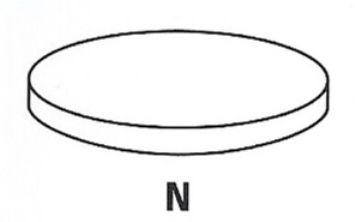 Регулировочная шайба, зазор клапана  арт. PRV01102