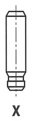 Направляющая клапана  арт. G3585