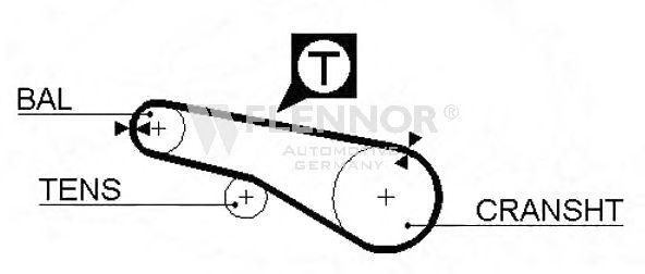 Ремень ГРМ DONGIL арт. 4963V