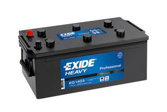 Аккумулятор  140Ah-12v Exide Start PRO (513х189х223),L,EN800