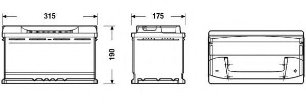 Акумулятор (Ціна за цей товар формується з двох складових: Ціна на сайті + додатковий платіж. Остаточну ціну дізнавайтесь у менеджера.)  арт. EB800