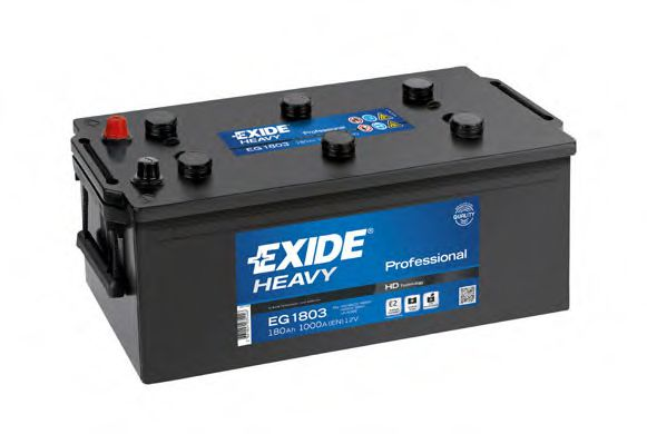 Аккумулятор  180Ah-12v Exide PROFESSIONAL(513х223х223),L,EN1000