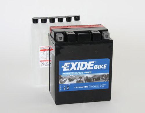 Аккумулятор   12Ah-12v Exide AGM (ETX14AH-BS) (134х89х164) L, EN210
