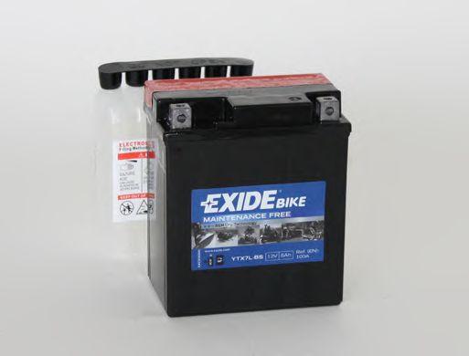 Аккумуляторы Аккумулятор    6Ah-12v Exide AGM (ETX7L-BS) (113х70х130) R, EN100                                     арт. ETX7LBS