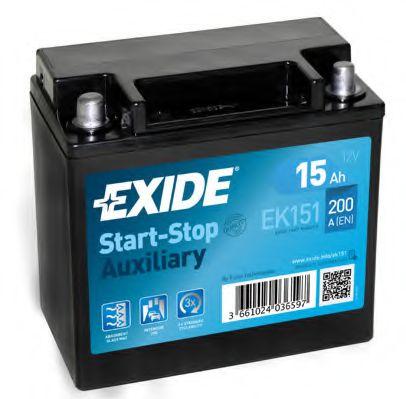 Акумулятор (Ціна за цей товар формується з двох складових: Ціна на сайті + додатковий платіж. Остаточну ціну дізнавайтесь у менеджера.)  арт. EK151