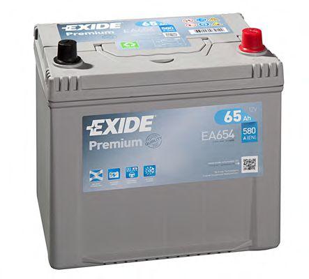 Аккумулятор   65Ah-12v Exide PREMIUM(230х173х222),R,EN580,Корея                                       арт. EA654