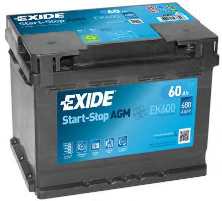 Акумулятор (Ціна за цей товар формується з двох складових: Ціна на сайті + додатковий платіж. Остаточну ціну дізнавайтесь у менеджера.)  арт. EK600