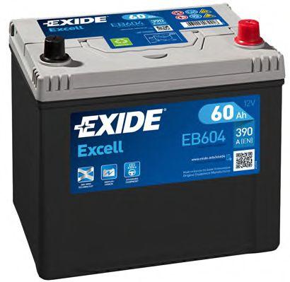 Аккумулятор   60Ah-12v Exide EXCELL(230х172х220),R,EN390                                              арт. EB604