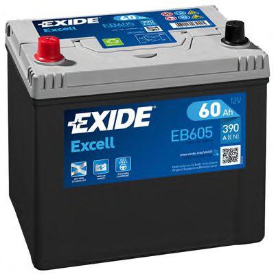Аккумулятор   60Ah-12v Exide EXCELL(230х172х220),L,EN390                                              арт. EB605