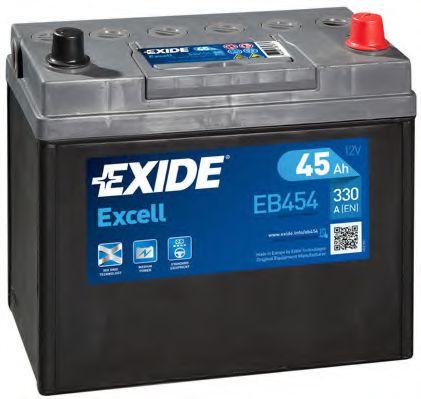 Аккумулятор   45Ah-12v Exide EXCELL(234х127х220),R,EN330                                              арт. EB454