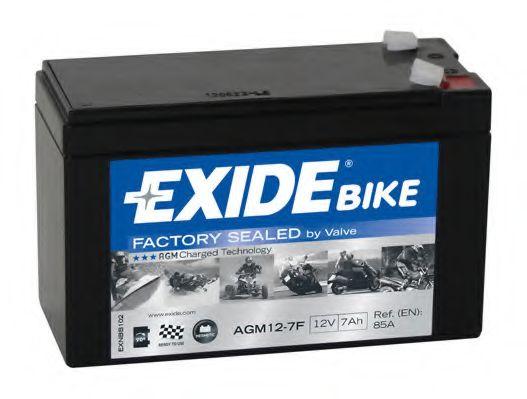 Аккумуляторы Стартерная аккумуляторная батарея EXIDE арт. AGM127F