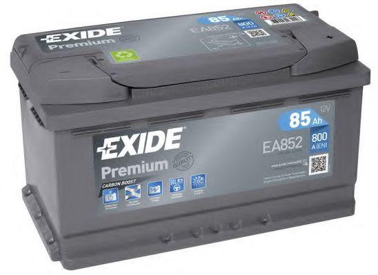 Аккумулятор   85Ah-12v Exide PREMIUM(315х175х175),R,EN800                                             арт. EA852